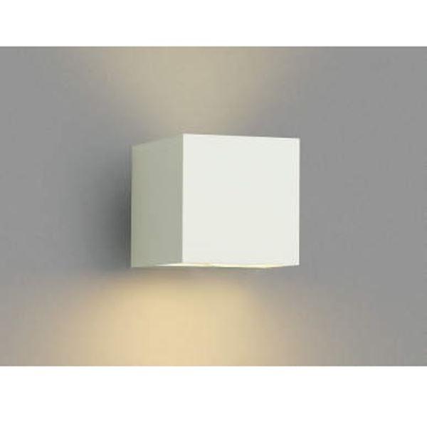 コイズミ ポーチ灯 下方照射 AU42373L 『ブラケットライト エクステリア照明 ライト』 オフホワイト