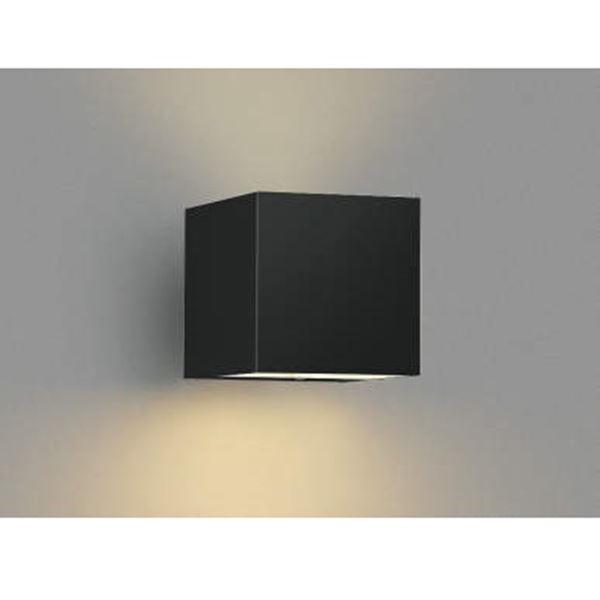 コイズミ ポーチ灯 下方照射 AU42370L 『ブラケットライト エクステリア照明 ライト』 黒色
