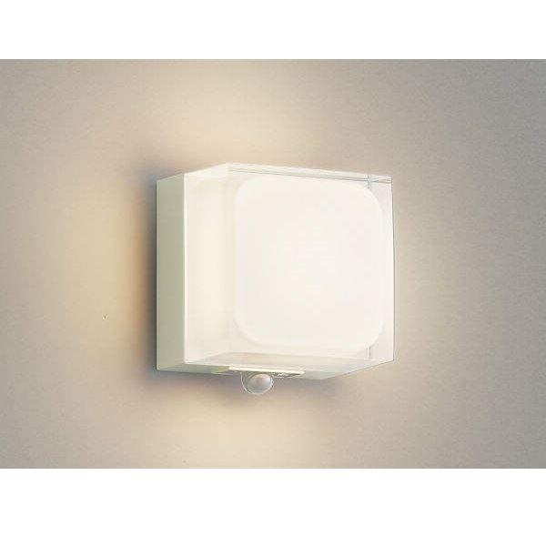 コイズミ ポーチ灯 マルチタイプ AU45865L 人感センサ付 『ブラケットライト エクステリア照明 ライト』 オフホワイト
