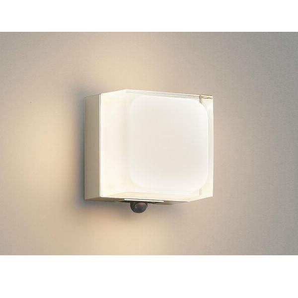 コイズミ ポーチ灯 マルチタイプ AU45868L 人感センサ付 『ブラケットライト エクステリア照明 ライト』 ウォームシルバー