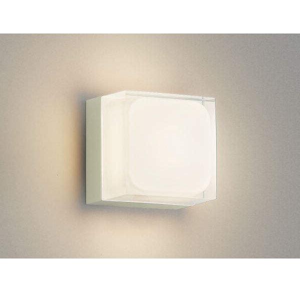 コイズミ ポーチ灯 AU45869L 『ブラケットライト エクステリア照明 ライト』 オフホワイト