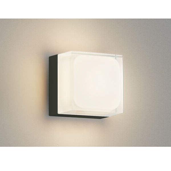 コイズミ ポーチ灯 AU45870L 『ブラケットライト エクステリア照明 ライト』 黒色