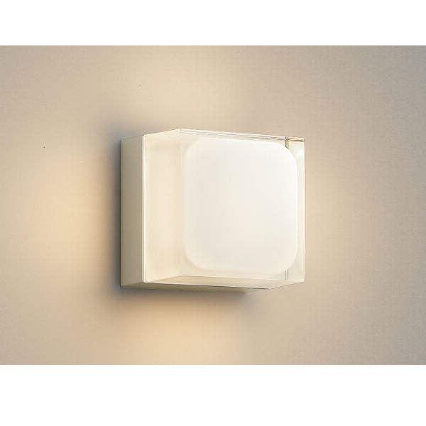 コイズミ ポーチ灯 AU45872L 『ブラケットライト エクステリア照明 ライト』 ウォームシルバー