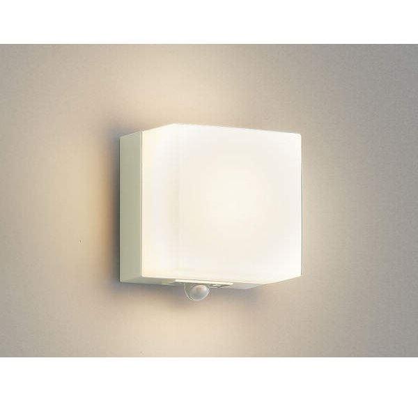 コイズミ ポーチ灯 マルチタイプ AU45873L 人感センサ付 『ブラケットライト エクステリア照明 ライト』 オフホワイト