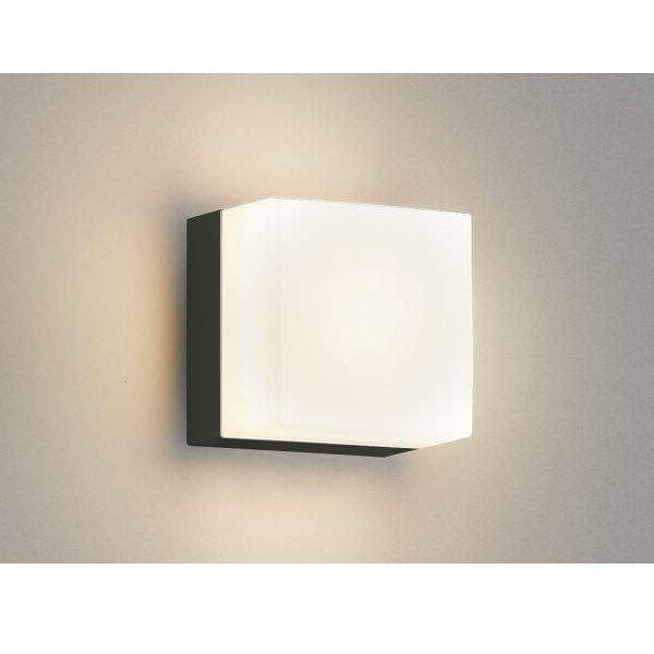 コイズミ ポーチ灯 AU45878L 『ブラケットライト エクステリア照明 ライト』 黒色