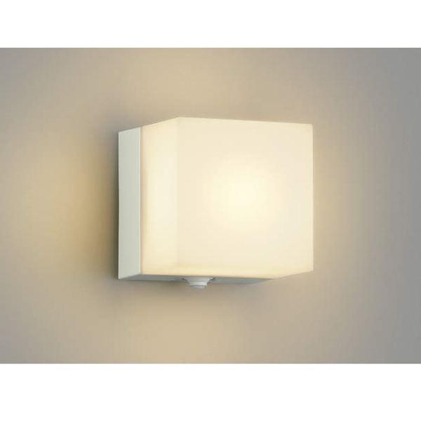 コイズミ ポーチ灯 タイマー付ON/OFFタイプ AU40264L 人感センサ付 『ブラケットライト エクステリア照明 ライト』 オフホワイト