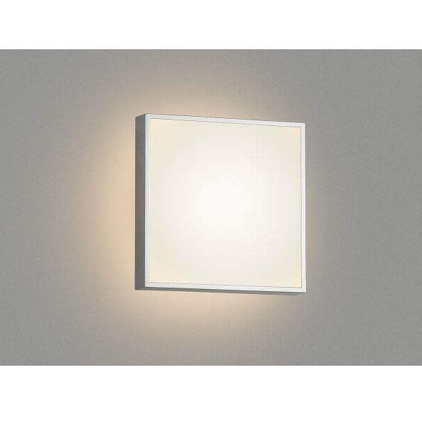 コイズミ ポーチ灯 AU45214L 『ブラケットライト エクステリア照明 ライト』 シルバーメタリック