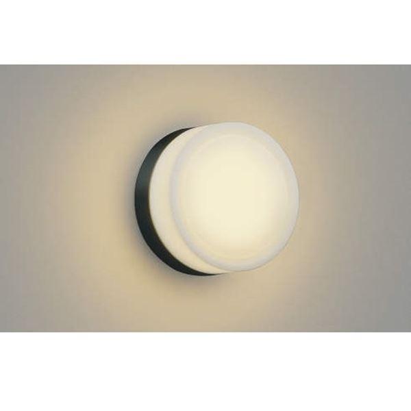 コイズミ ポーチ灯 AU38136L 『ブラケットライト エクステリア照明 ライト』 黒色