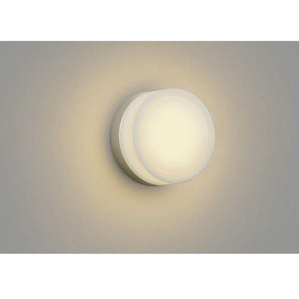 コイズミ ポーチ灯 AU38138L 『ブラケットライト エクステリア照明 ライト』 ウォームシルバー