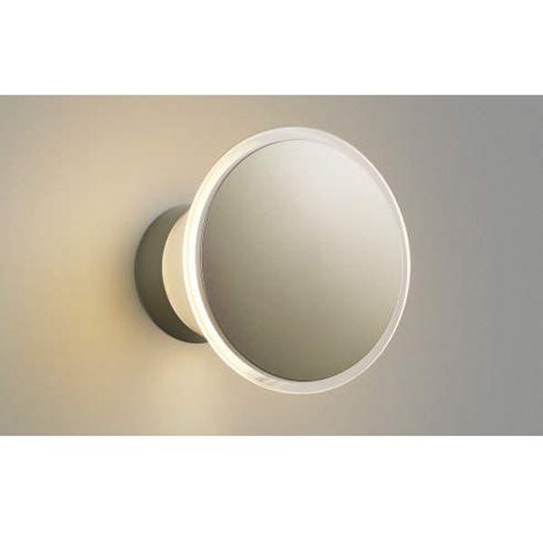コイズミ ポーチ灯 直付・壁付取付 AU35028L 光害対策ブラケット 『ブラケットライト エクステリア照明 ライト』 ウォームシルバー