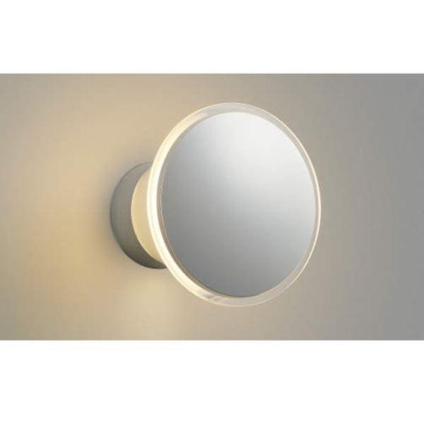 コイズミ ポーチ灯 直付・壁付取付 AU35029L 光害対策ブラケット 『ブラケットライト エクステリア照明 ライト』 シルバーメタリック
