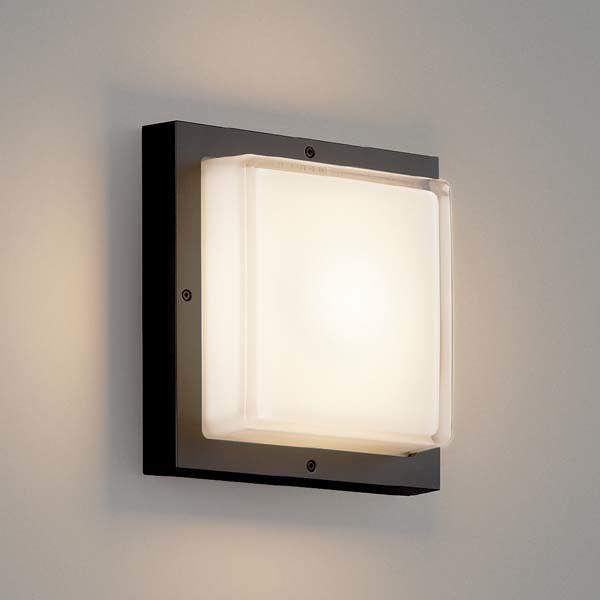 コイズミ 防塵・防水ブラケット AU46391L 『ブラケットライト エクステリア照明 ライト』 黒色