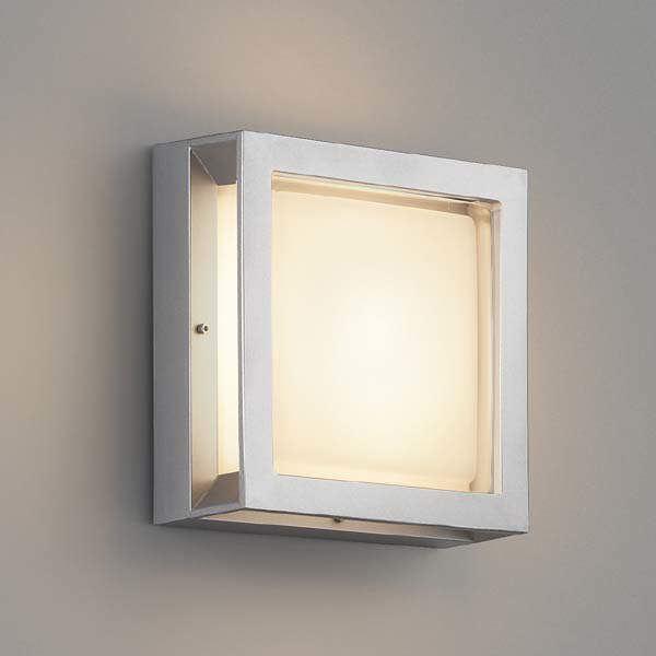 コイズミ 防塵・防水ブラケット AU45917L 『ブラケットライト エクステリア照明 ライト』 シルバーメタリック