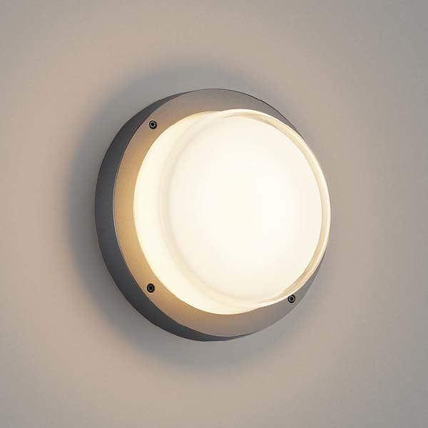 コイズミ 防塵・防水ブラケット AU45918L 『ブラケットライト エクステリア照明 ライト』 ダークグレーメタリック