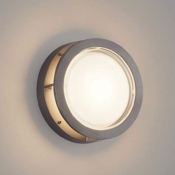 コイズミ 防塵・防水ブラケット AU45920L 『ブラケットライト エクステリア照明 ライト』 ダークグレーメタリック