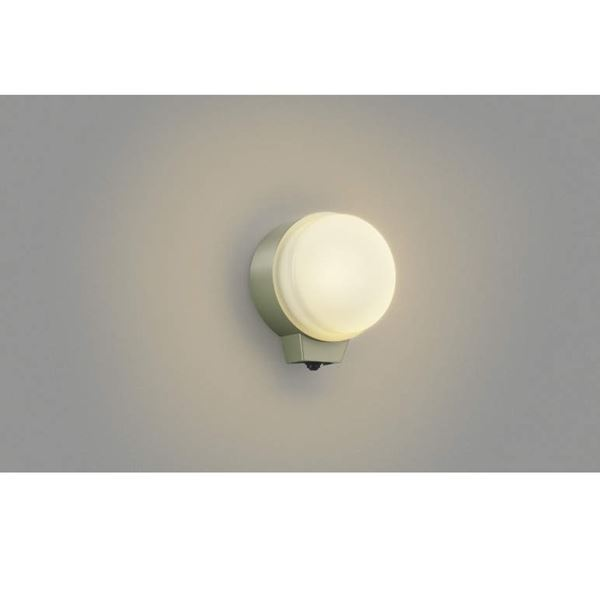 コイズミ 勝手口灯 マルチフラッシュタイプ AU38541L 人感センサ 『ブラケットライト エクステリア照明 ライト』 オフホワイト