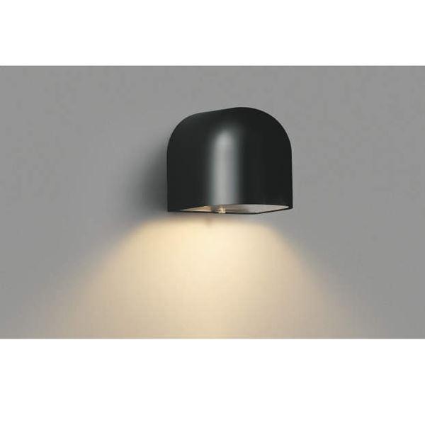 コイズミ 勝手口灯 AU35074L 『ブラケットライト エクステリア照明 ライト』 黒色