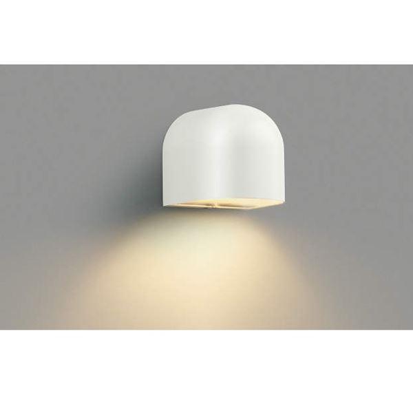 コイズミ 勝手口灯 AU35075L 『ブラケットライト エクステリア照明 ライト』 オフホワイト