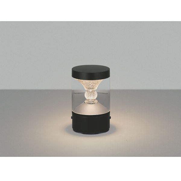 コイズミ ツインルックス  AU45503L  『門柱灯 エクステリア照明 ライト』 黒色