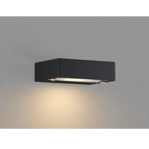 コイズミ 表札灯  AU42376L  『表札灯 エクステリア照明 ライト』 黒色
