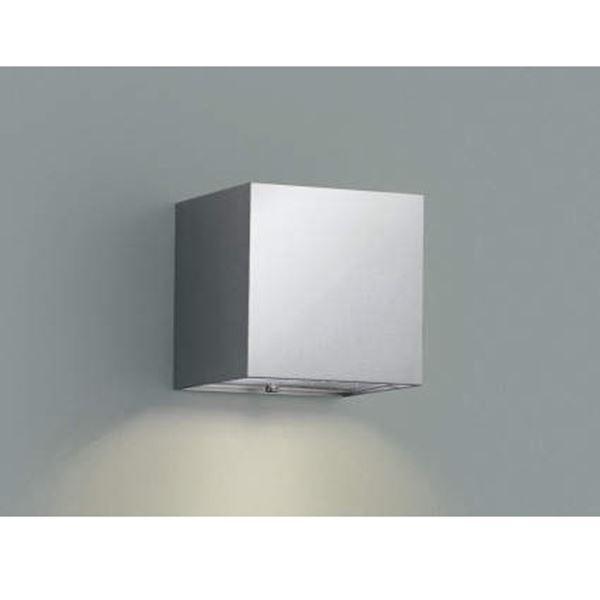 コイズミ 表札灯  AU42374L  『表札灯 エクステリア照明 ライト』 シルバーメタリック
