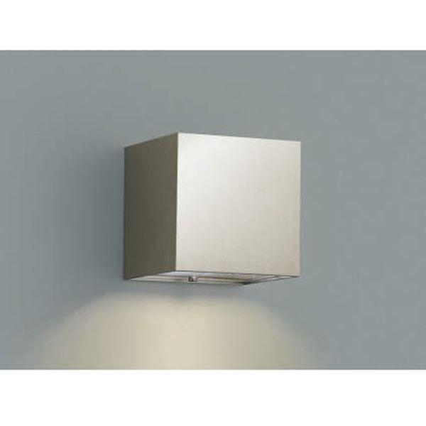 コイズミ 表札灯  AU42375L  『表札灯 エクステリア照明 ライト』 ウォームシルバー