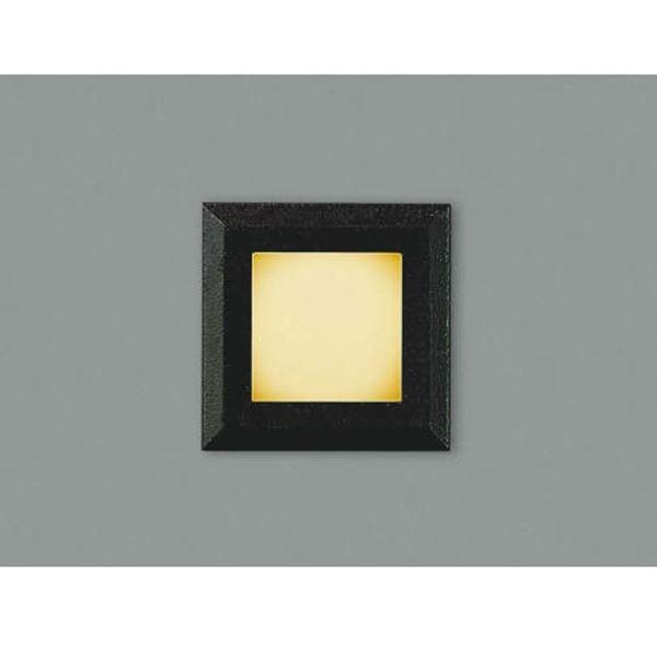 コイズミ フットライト  AU44100L  『フットライト エクステリア照明 ライト』 黒色