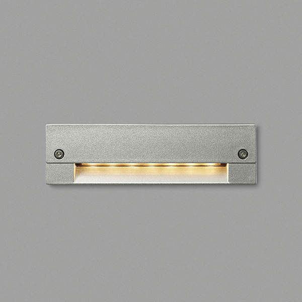 コイズミ フットライト  AU46982L  『フットライト エクステリア照明 ライト』 シルバーメタリック