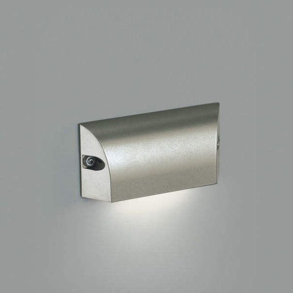 コイズミ フットライト  AU46894L  『フットライト エクステリア照明 ライト』 ウォームシルバー