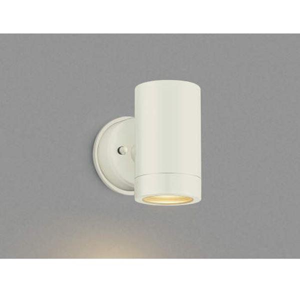 コイズミ フットライト  AU42384L  『スポットライト エクステリア照明 ライト』 オフホワイト