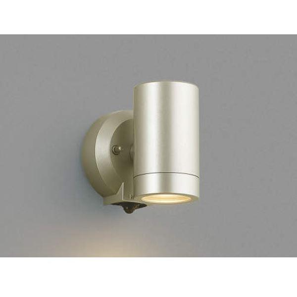 コイズミ フットライト マルチフラッシュタイプ AU42382L 人感センサ付 『スポットライト エクステリア照明 ライト』 ウォームシルバー