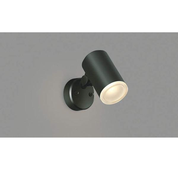 コイズミ フットライト  AU38273L  『スポットライト エクステリア照明 ライト』 黒色