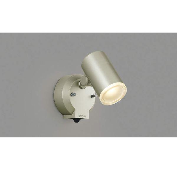 コイズミ フットライト マルチフラッシュタイプ AU38271L 人感センサ付 『スポットライト エクステリア照明 ライト』 ウォームシルバー