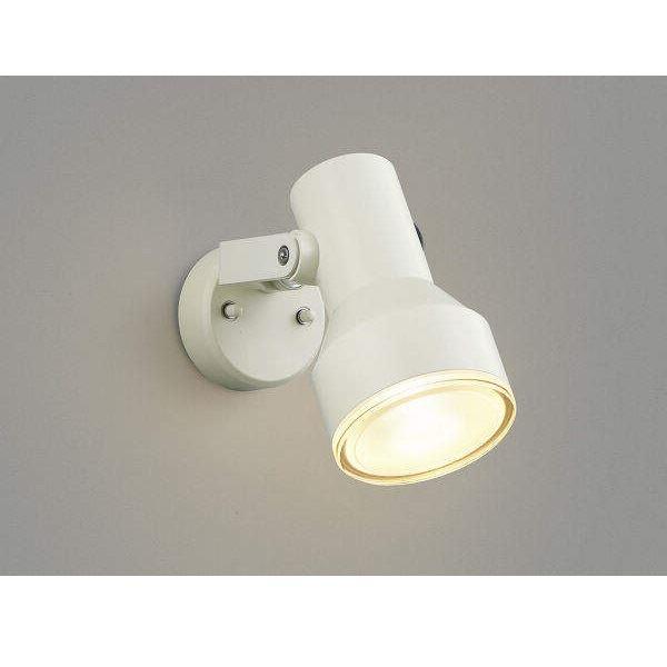 コイズミ フットライト  AU45242L  『スポットライト エクステリア照明 ライト』 オフホワイト
