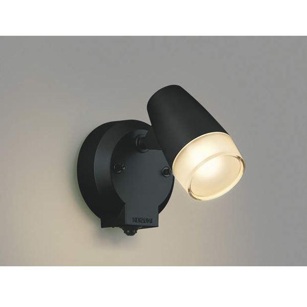 コイズミ フットライト マルチタイプ AU40750L 人感センサ付 『スポットライト エクステリア照明 ライト』 黒色