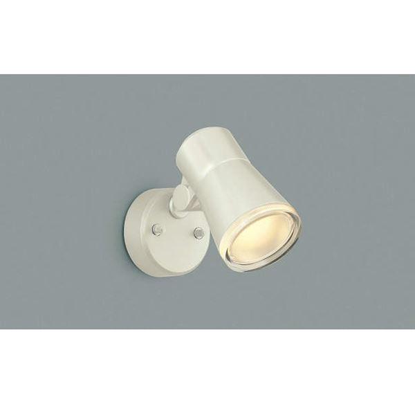 コイズミ フットライト  AUE640561  『スポットライト エクステリア照明 ライト』 オフホワイト