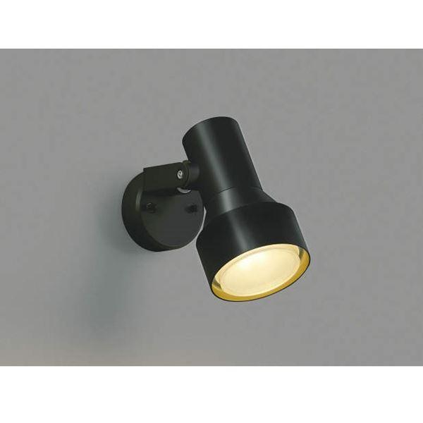 コイズミ フットライト  AU40626L  『スポットライト エクステリア照明 ライト』 黒色