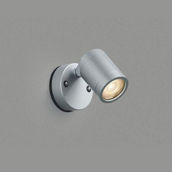 コイズミ 可動ブラケット 直付・壁付取付 AU45248L 電球色 拡散 『ブラケットライト エクステリア照明 ライト』 シルバーメタリック