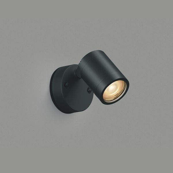 コイズミ 可動ブラケット 直付・壁付取付 AU45250L 電球色 中角 『ブラケットライト エクステリア照明 ライト』 黒色