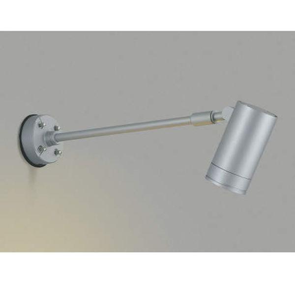 コイズミ スポットライト  AU43663L 中角 『スポットライト エクステリア照明 ライト』 シルバー