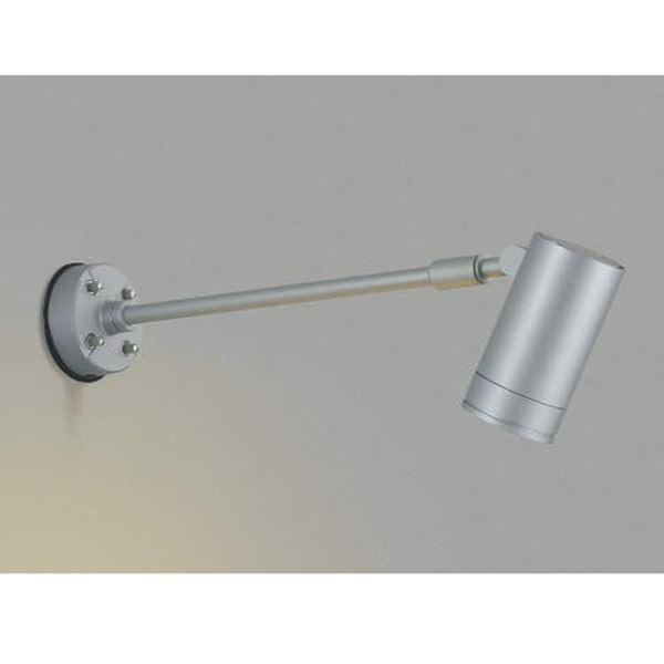 コイズミ スポットライト  AU43664L 広角 『スポットライト エクステリア照明 ライト』 シルバー