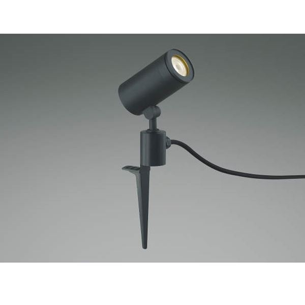 コイズミ スポットライト  AU43670L 広角 『スポットライト エクステリア照明 ライト』 黒色