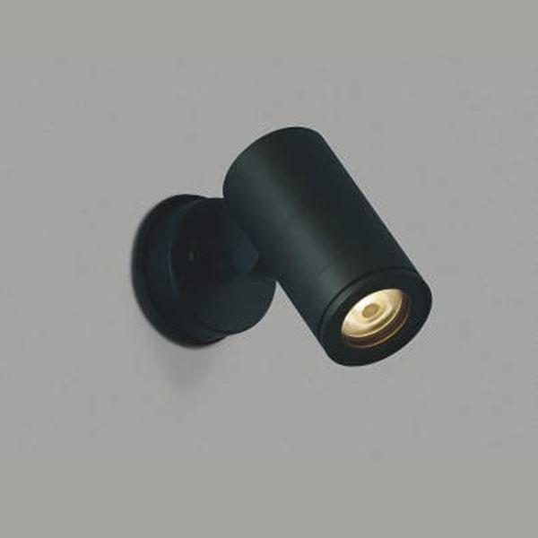 コイズミ スポットライト  AU43661L 中角 『スポットライト エクステリア照明 ライト』 黒色
