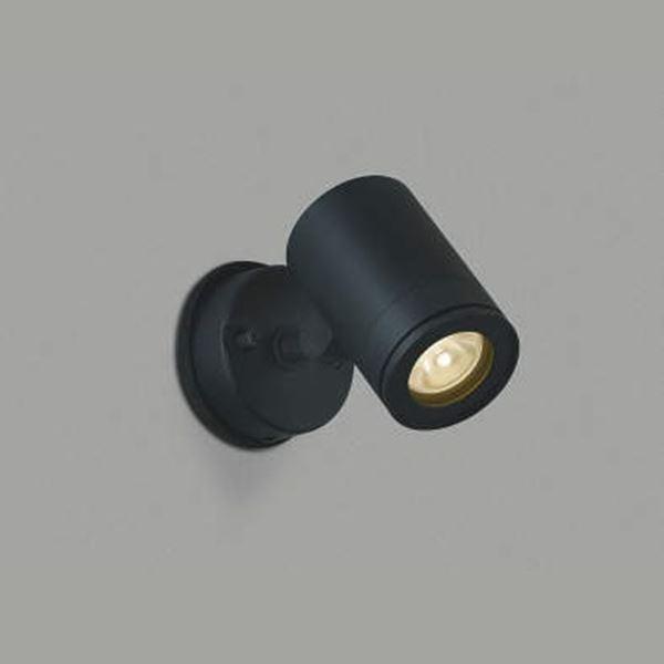 コイズミ スポットライト  AU43674L 広角 『スポットライト エクステリア照明 ライト』 黒色