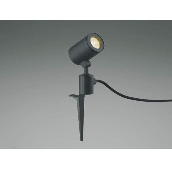 コイズミ スポットライト  AU43681L 中角 『スポットライト エクステリア照明 ライト』 黒色