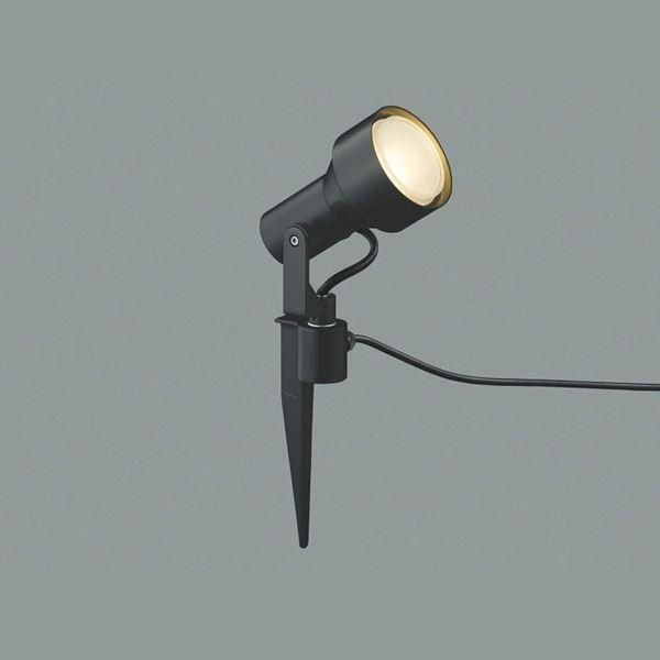 コイズミ スパイクスポットライト  AU40630L 散光 『スポットライト エクステリア照明 ライト』 黒色