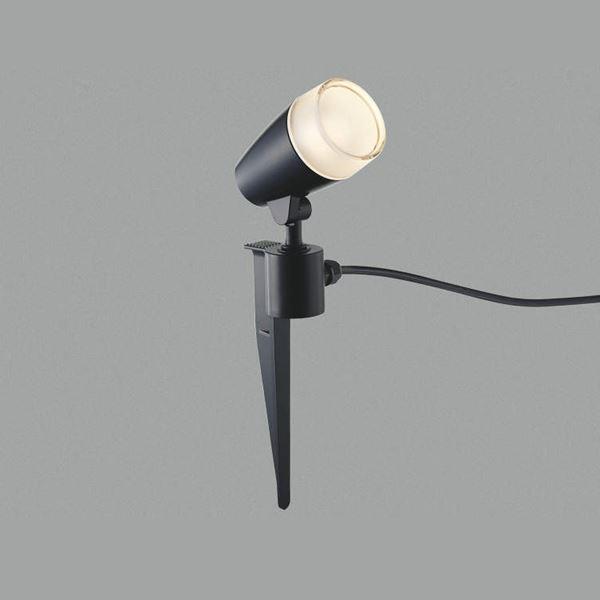 コイズミ スパイクスポットライト  AU43188L  『スポットライト エクステリア照明 ライト』 黒色