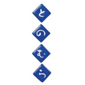 美濃クラフト 琉球のガラスキューブ GX-54(4個) 『表札 サイン 戸建』