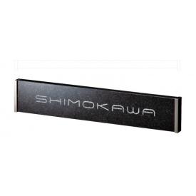 福彫 スタイリッシュ 黒ミカゲ&ステンレス DK108 『表札 サイン 戸建』