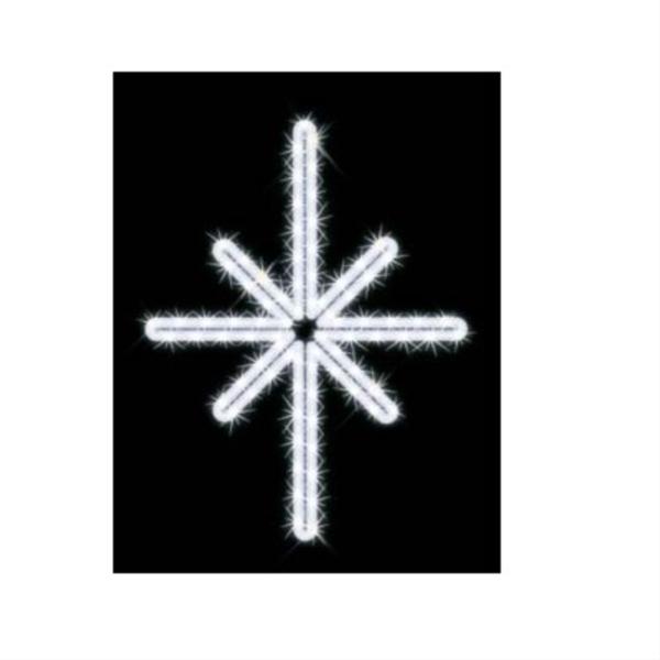 タカショー MKイルミネーション 2Dモチーフ ポラリス MKJ-017W 『エクステリア照明 ライト』 白